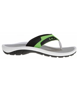 Oakley Supercoil 4 Sandals Black/Green