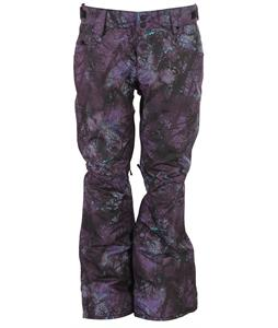 Oakley Tango Insulated Snowboard Pants Helio Purple Forest