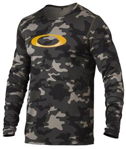 Oakley Uniform Baselayer Top Olive Camo