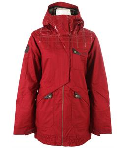 Oakley Village Snowboard Jacket Redwood