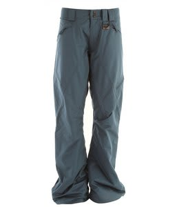Oakley White Smoke Snowboard Pants Marine Blue