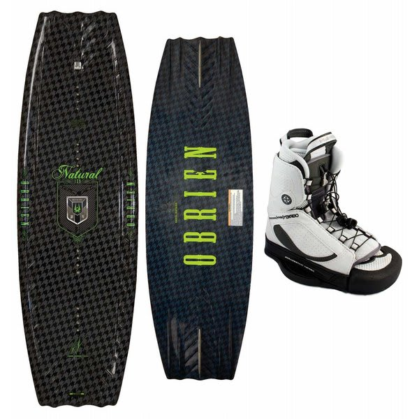 OBrien The Natural Wakeboard w/ Xenon Bindings