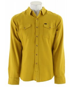 Obey Arrington Shirt Oil Yellow