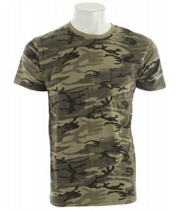 Obey Camo Pocket T-Shirt Classic Camo