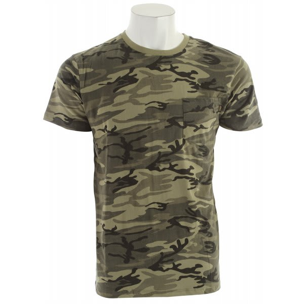 Obey Camo Pocket T-Shirt