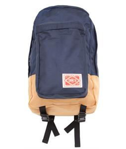 Obey Commuter Pack Backpack Navy/Gold