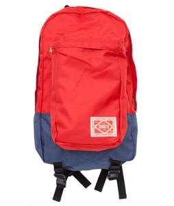 Obey Commuter Pack Backpack Red/Navy