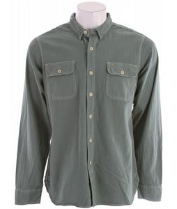 Obey Coastal (Overdye) Shirt Frosty Spruce