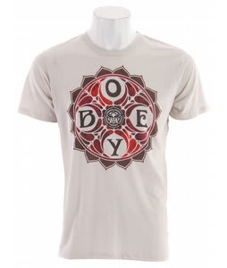 Obey Dye Star T-Shirt Heather Stone
