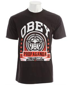 Obey Extra Innings Basic T-Shirt Black