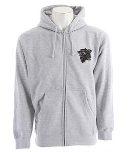Obey Hell Hound Hoodie Heather Grey
