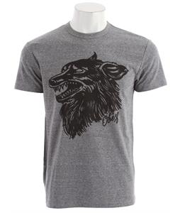 Obey Hell Hound Tri-Blend T-Shirt Heather Grey