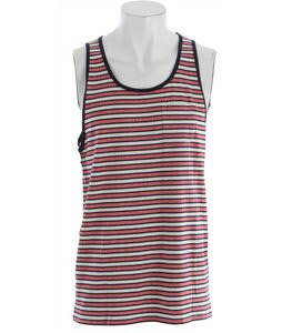 Obey Kinley Tank Red/Navy