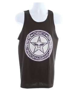 Obey Luxury Propaganda Basic Tank Black
