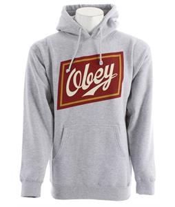 Obey Malt Liquor Hoodie Heather Grey