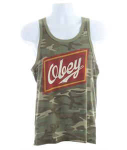 Obey Malt Liquor Ringer Tank Camo