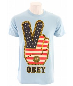 Obey Peace Fingers USA T-Shirt
