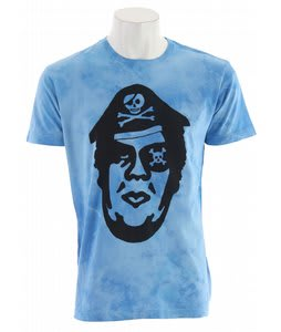 Obey Pirate T-Shirt Sky Blue