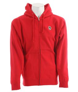 Obey Pirate Posse Zip Hoodie Red