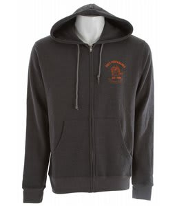 Obey Printing Press Hoodie Heather Charcoal