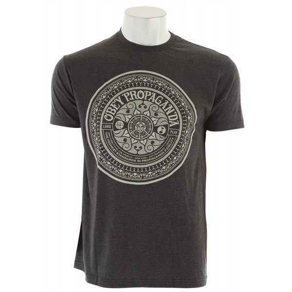 Obey Psychedelic Records 50/50 T-Shirt
