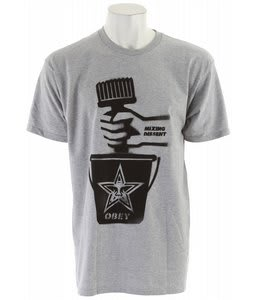Obey Recipe For Dissent Basic T-Shirt Heather Grey