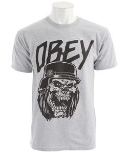 Obey Reign In Obey Basic T-Shirt Heather Grey