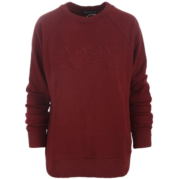 Obey Shadow Stripe Crew Sweatshirt