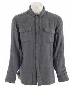 Obey Toluca Shirt Indigo