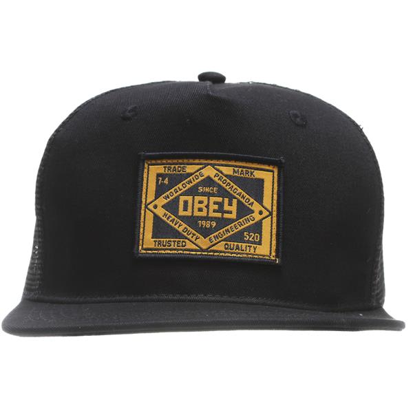 Obey Trademark Trucker Cap