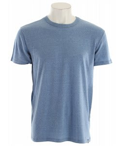 Obey Tri-Blend Blank T-Shirt Heather Blue