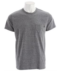 Obey Tri-Blend Pocket T-Shirt Heather Grey