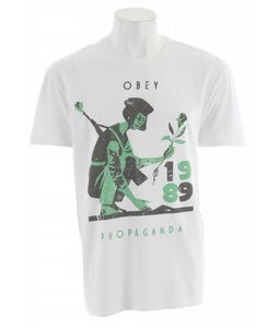 Obey Vietnam Girl T-Shirt Light Grey