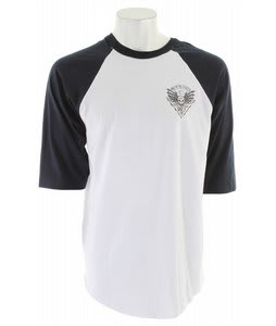Obey Wild In The Streets 2 Basic Raglan White/Navy