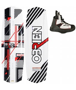 O'Brien Ace Wakeboard 137 w/ Kick Bindings