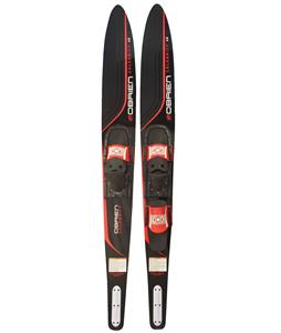 O'Brien Celebrity Red Combo Waterski w/ 700/Adj RTP Bindings