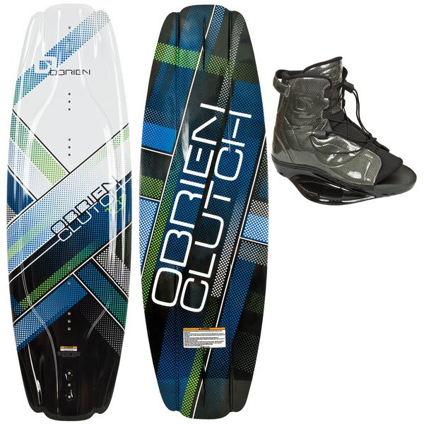 OBrien Clutch 137 Wakeboard w/ Access Bindings