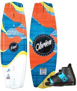 O'Brien Pixel Wakeboard w/ Nova Bindings