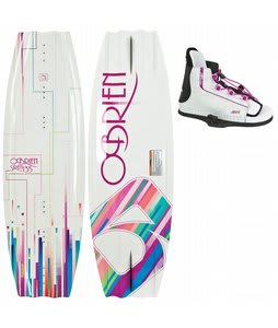 O'Brien Siren 135 Wakeboard w/ Siren Bindings
