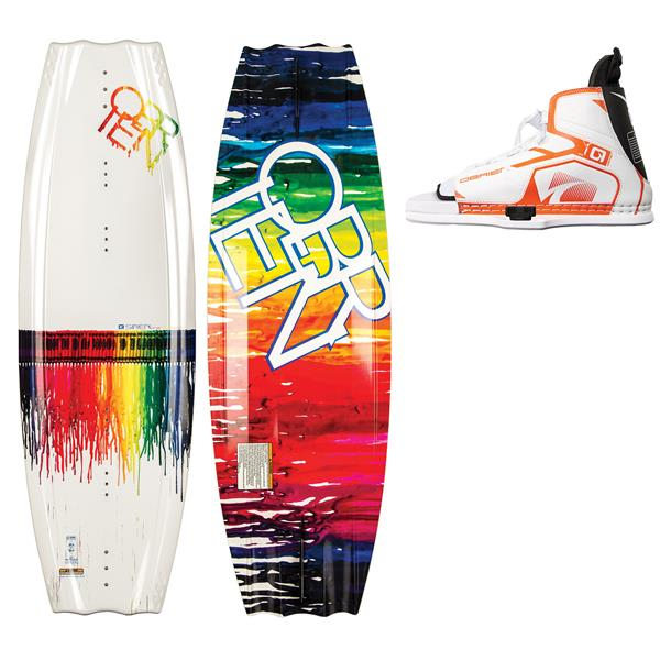 OBrien Siren Wakeboard w/ Nova Jr Bindings