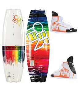O'Brien Siren Wakeboard 124 w/ Nova Bindings