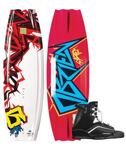 O'Brien System Wakeboard w/ Clutch Jr Bindings