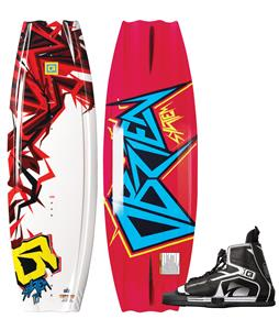 O'Brien System Wakeboard w/ Device Jr Bindings