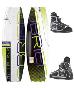 O'Brien System Wakeboard 124 w/ Device Jr Bindings