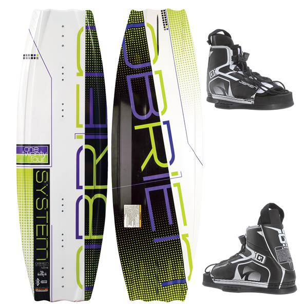 OBrien System Wakeboard w/ Device Jr Bindings