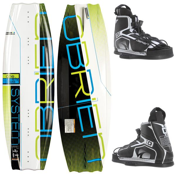 OBrien System Wakeboard w/ Device Bindings