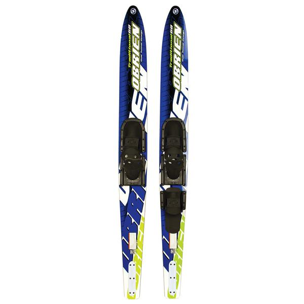 OBrien Traditional Skis 68 w/ 475 Adj. Bindings