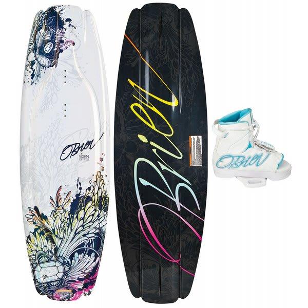 OBrien Vixen Wakeboard w/ Vixen Bindings