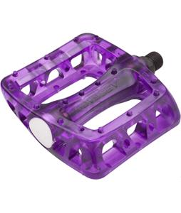 Odyssey Limited Edition Twist PC Bike Pedals Clear Grape 9/16in
