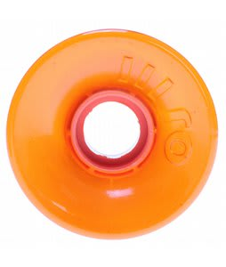 OJ Hot Juice Skateboard Wheels Trans Orange 60mm